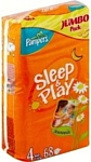 Pampers Sleep & Play 4 Maxi (7-18 кг) Jumbo Pack 68 шт