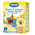 Nestle 5 злаков с яблоком и бананом, 250 г