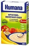 Humana Рисово-кукурузная молочная с фруктами, 250 г