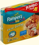 Pampers New Baby 2 Mini (3-6 кг) Jumbo Pack 94 шт