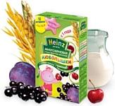Heinz Многозерновая фруктово-молочная слива, вишня, черная смородина, 200 г