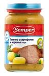 Semper Телятина с картофелем и морковью, 200 г