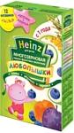 Heinz Многозерновая фруктово-молочная слива, абрикос, черника, 200 г
