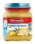 Semper Камбала с картофелем, 135 г