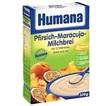 Humana Рисово-кукурузная с персиком и маракуйей молочная, 250 г