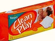 Pampers Clean & Play, 72 шт