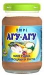 АГУ-АГУ Филе трески с овощами и рисом, 190 г