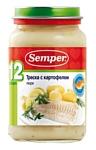 Semper Треска с картофелем, 200 г