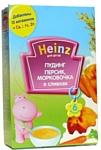 Heinz Персик, морковочка в сливках, 200 г