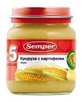 Semper Кукуруза с картофелем, 135 г