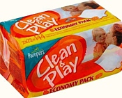 Pampers Clean & Play, 144 шт