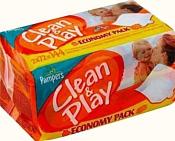 Pampers Clean & Play, 144 шт