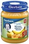 Gerber Яблоко, абрикос, банан, 130 г
