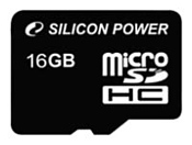 Silicon Power microSDHC 16GB Class 4