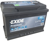 Exide Premium 77 R (77Ah) EA770