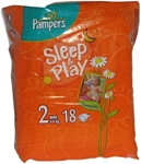 Pampers Sleep & Play 2 Mini (3-6 кг) 18 шт