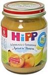 HiPP Абрикосы с бананами, 125 г