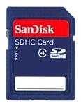 Sandisk SDHC Card 32GB Class 4