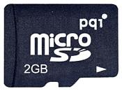 PQI Micro SD 2Gb + MS PRO Duo adapter