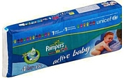 Pampers Active Baby 4+ Maxi Pluse (9-20 кг) 48 шт