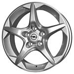 Replica OPL4 6.5x16/5x105 D56.6 ET39 Silver