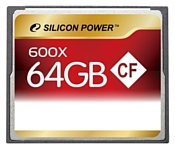Silicon Power 600X Professional Compact Flash Card 64GB