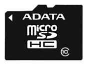 ADATA microSDHC Class 10 32GB + SD adapter