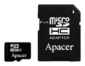 Apacer microSDHC Card Class 10 16GB + SD adapter