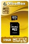 OltraMax microSDHC Class 10 32GB + SD adapter