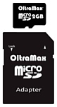 OltraMax microSD 2GB + SD adapter