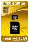 OltraMax microSDHC Class 10 16GB + SD adapter