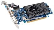 GIGABYTE GeForce 210 590Mhz PCI-E 2.0 1024Mb 1200Mhz 64 bit DVI HDMI HDCP