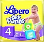 Libero Dry Pants Maxi 4 (7-11 кг) 20 шт