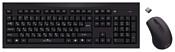 Oklick 210M Wireless Keyboard&Optical Mouse Black USB