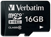 Verbatim microSDHC Class 10 16GB