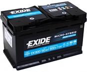 Exide Micro-Hybrid AGM EK800 (80Ah)