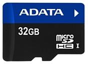 ADATA microSDHC UHS-I 32GB + SD adapter