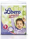 Libero Up&Go 7 XL plus 16-26 кг 12 шт