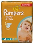 Pampers Sleep&Play 4 Maxi (86 шт.)