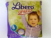 Libero Up&Go 6 XL 13-20 кг 14 шт