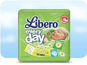 Libero Everyday 2 Mini 3-6 кг 24 шт