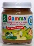 Gamma Кабачок и яблоко, 100 г