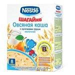 Nestle Шагайка Овсяная с кусочками груши, 250 г