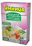 УМНИЦА мультифруктовый с бананом, грушей, яблоком и абрикосом, 250 г