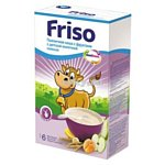 Friso Пшеничная с фруктами с детской молочной смесью, 250 г