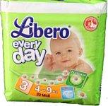 Libero Everyday 3 Midi 4-9 кг 22 шт
