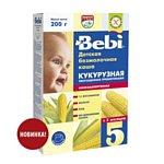 Bebi Кукурузная низкоаллергенная с пребиотиками, 200 г