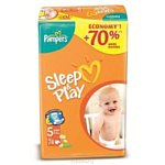 Pampers Sleep & Play 5 Junior (12-25 кг) 74 шт