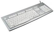 Gembird KB-9848LU-R Silver USB