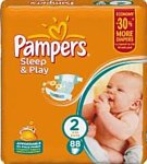 Pampers Sleep & Play 2 Mini (3-6 кг) 88 шт